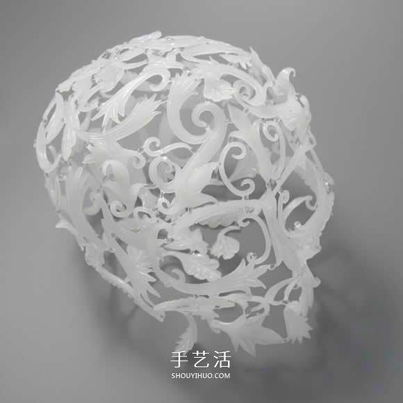 脆弱玻璃打造骑士头盔 带出强烈的工艺之美! -  www.shouyihuo.com