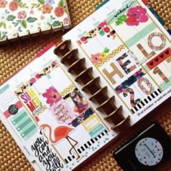 手帐教程:新的一年就替自己DIY一本专属日志