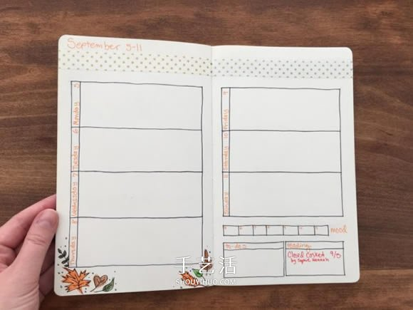 手帳教程:新的一年就替自己DIY一本專屬日誌