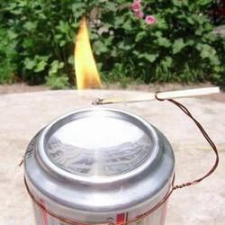 自制取火凹面镜的方法 易拉罐做凹面镜小实验