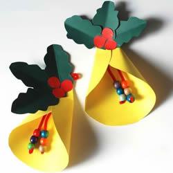 圣诞铃铛挂件手工制作 幼儿做圣诞节铃铛教程