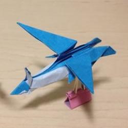详细神奇宝贝折法图解 折纸精灵宝可梦步