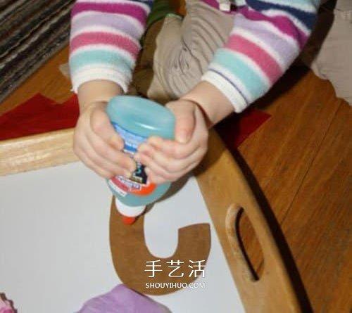 聖誕節拐杖糖手工製作 幼兒做拐杖糖掛飾方法