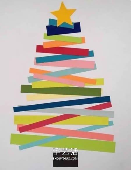 廢報紙利用小製作 做可愛的聖誕老人賀卡教程
