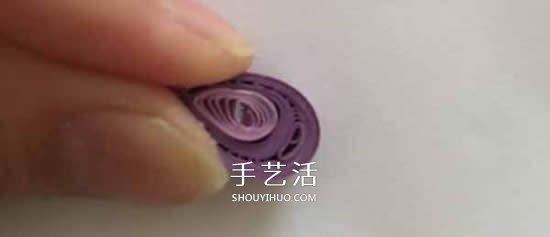 简单入门衍纸教程 手工衍纸花朵的制作方法 -  www.shouyihuo.com