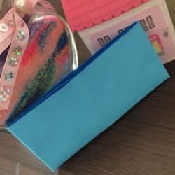 简单几步折叠小纸袋图解 幼儿小钱包折纸方法