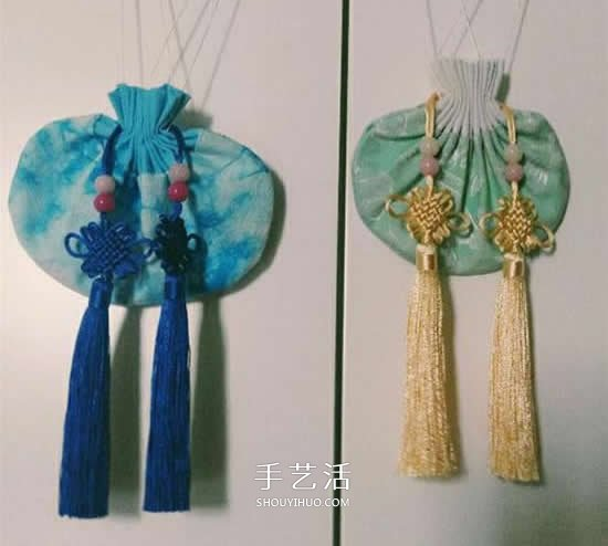 手工香包的做法图解 端午节布艺香包制作方法 -  www.shouyihuo.com