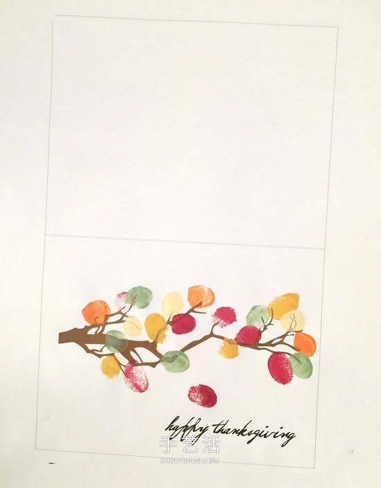 親手做感恩節賀卡的方法 怎麼做感謝卡片教程
