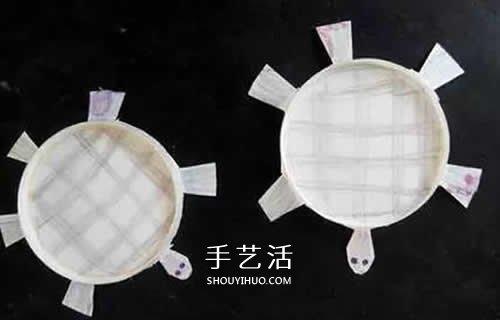 一次性纸杯小制作教程 最简单做小乌龟的方法 -  www.shouyihuo.com