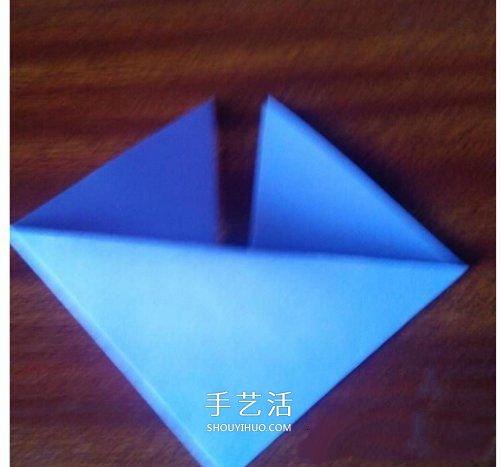 双爱心的折法_最简单心形的折纸教程 幼儿园折纸爱心图解_手艺活网