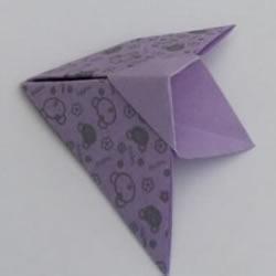 简单飞机手偶的折法 幼儿手工折纸手偶小飞机