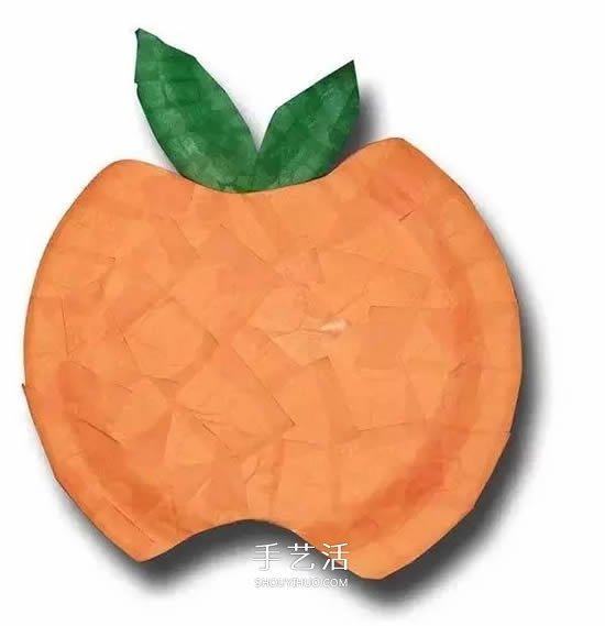 万圣节南瓜怪手工制作 简单的幼儿纸餐盘DIY -  www.shouyihuo.com