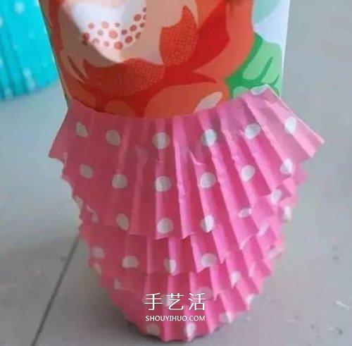 幼兒園貓頭鷹小製作 捲紙筒和蛋糕紙巧利用