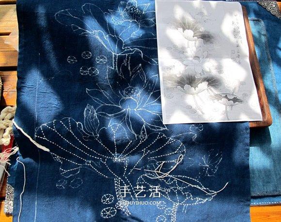 一针一线绣情怀!左草草的刺子绣挂画教程 -  www.shouyihuo.com