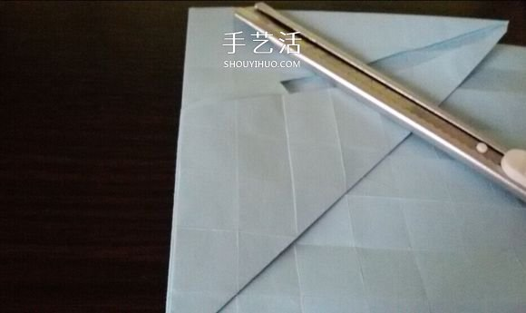 卷心川崎玫瑰折法图解 详细川崎卷心玫瑰折法 -  www.shouyihuo.com