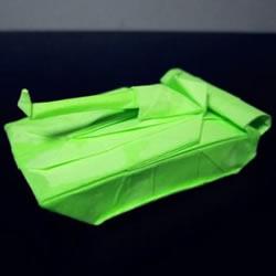 手工折纸坦克图解教程 坦克怎么折的详细步骤