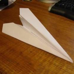 飞得更快更远! 简单纸飞机的折纸方法图解