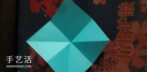 一张纸折幸运草的折法图解 折纸步骤挺简单 -  www.shouyihuo.com