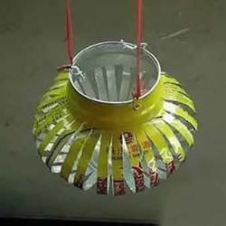用易拉罐怎么做灯笼 新年易拉罐灯笼制作方法