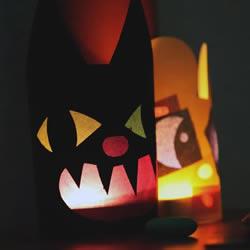 万圣节恐怖灯笼怎么做 卡纸做万圣节灯笼方法