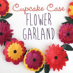 节日花环DIY 简单蛋糕纸做花环的方法图解
