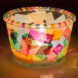 简单又漂亮的灯笼DIY 幼儿手工制作胶带纸灯笼