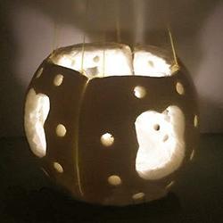 创意柚子皮灯笼的做法 如何用柚子皮做灯笼