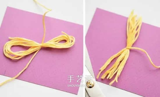 用卡纸做灯笼的方法图片 可爱漂亮的小南瓜 -  www.shouyihuo.com