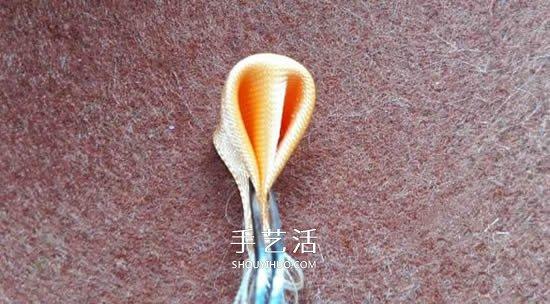 絲帶手工製作梅花圖解 做成漂亮的胸花或髮飾