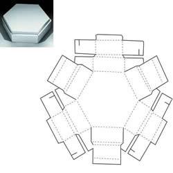 收纳盒折法大全图解 卡纸做收纳盒的展开图
