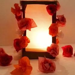 牛奶盒做灯笼的方法 唯美花朵灯饰怎么做图解