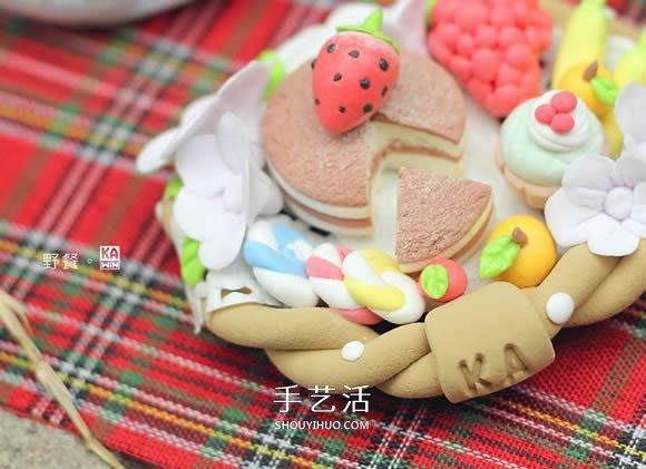 粘土作品简单可爱图片 儿童粘土作品大全图片 -  www.shouyihuo.com