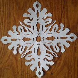 正方形窗花剪纸步骤图 包括怎么折和剪纸图案