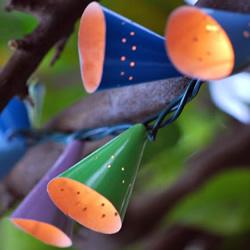 灯带灯罩的制作教程 三角帽改造灯带灯饰方法