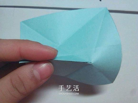 詳細凡爾賽花球教程 手工摺紙凡爾賽花球圖解