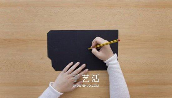 卡纸做灯笼的方法图解 简单又好看卡纸灯饰DIY -  www.shouyihuo.com