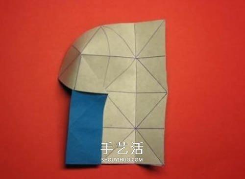 春意盎然的花球!手工摺紙立體紙花球的教程