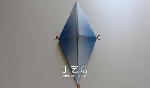 摺紙千紙鶴的步驟小改造 簡單折出立體丹頂鶴