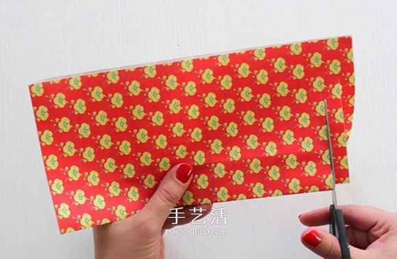 迎新年亲子手工:简单好看纸灯笼的做法图解 -  www.shouyihuo.com