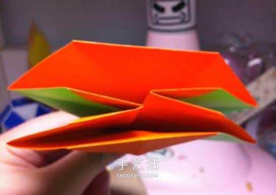 微型月季花的摺紙教程 漂亮鑽石玫瑰怎麼折圖解