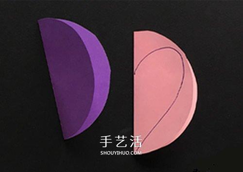彩色卡纸做小老鼠教程 简单立体老鼠制作图片 -  www.shouyihuo.com