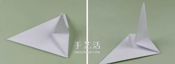 閃閃發亮五角星的折法 組合立體星星摺紙圖解