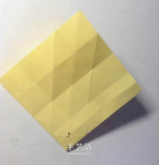 原創微微玫瑰的折法 詳細摺紙玫瑰花過程步驟