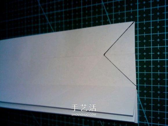 六翼熾天使之心折法 摺紙帶六翼翅膀愛心圖解