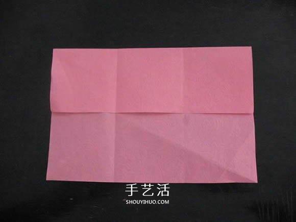 贈送初戀的小禮物!摺紙薔薇戒指的折法圖解
