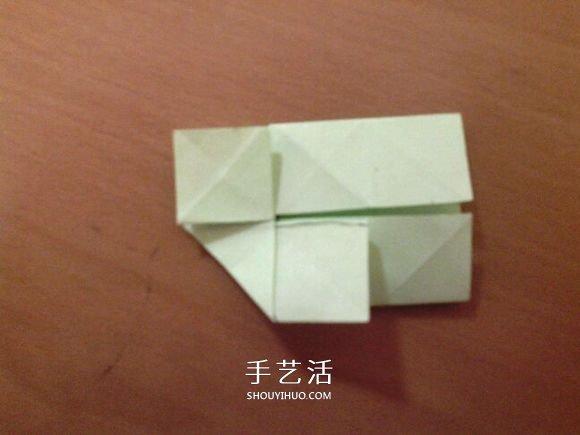 幸運四葉草的折法圖解 怎麼摺紙四葉草步驟圖