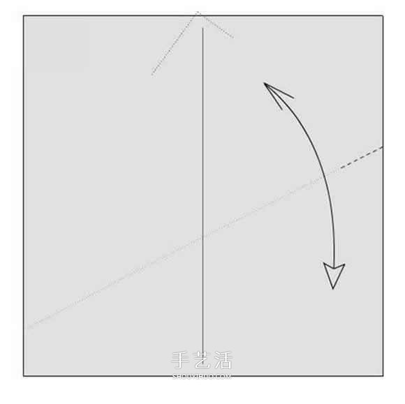 详细玫瑰花的折纸教程 简单五瓣玫瑰花的折法 -  www.shouyihuo.com