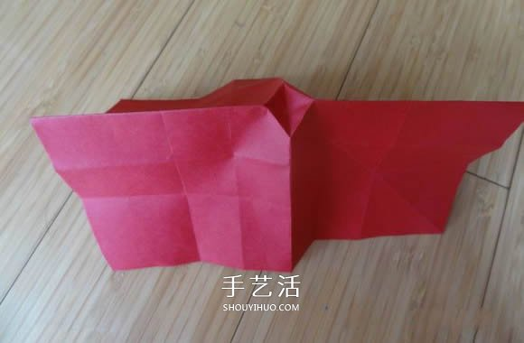 代表美丽和爱情!手工折纸卷心玫瑰步骤图解 -  www.shouyihuo.com
