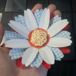 简单手工做太阳花教程 向日葵花的做法图解