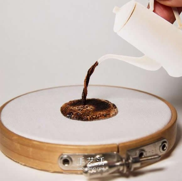 精致又迷你!不可思议的日本手工微型刺绣 -  www.shouyihuo.com
